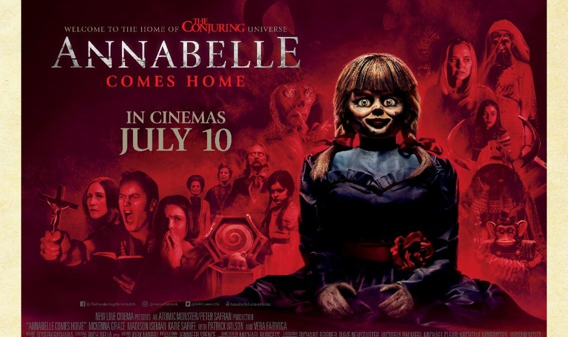 Image result for annabelle comes home poster